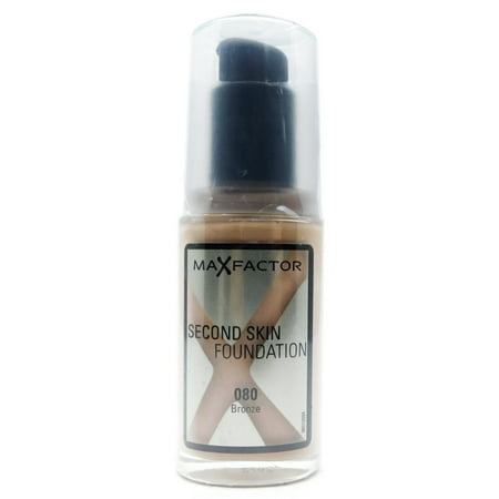 Max Factor Second Skin Foundation, Bronze