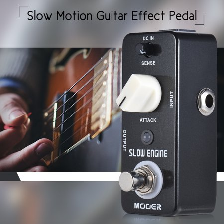 MOOER SLOW ENGINE Slow Motion Guitar Effect Pedal True Bypass Full Metal