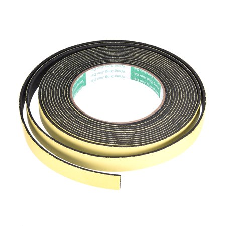 Foam Seal Tape, 15mm Wide 2mm Thick 16.4 Feet Long Adhesive Weather Strip - image 1 de 1