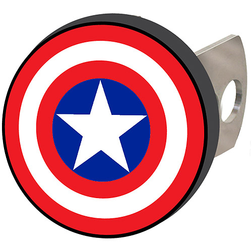 Plasticolor Hitch Cover, Marvel Captain America Shield