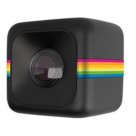 Polaroid Cube + Live Streaming 1440p Mini Lifestyle Action Camera, Black