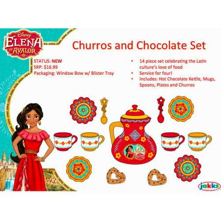 Disney Elena Of Avalor Royal Palace Tea And Chocolate Set
