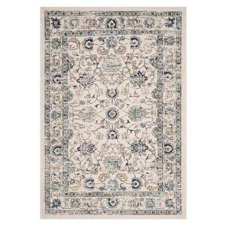 Carmel Accent (Safavieh Carmel Michelle Floral Bordered Area Rug or Runner)