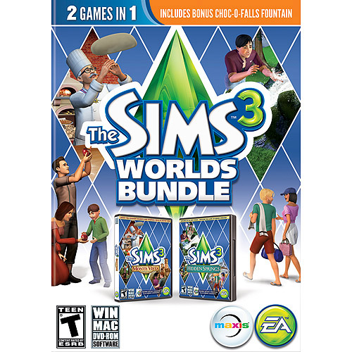 Sims 3 Worlds Bundle (PC)