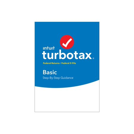 TurboTax Basic for Tax Year 2016 - Box pack - 1 user - CD - U.S. Federal only - Win, Mac - with E-file