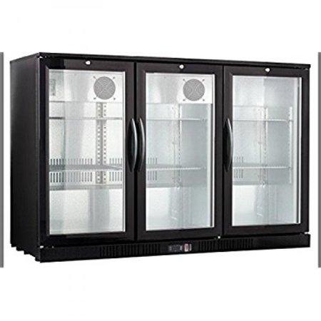 54 Wide 3-door Back Bar Beverage (Back Bar Storage Cooler)