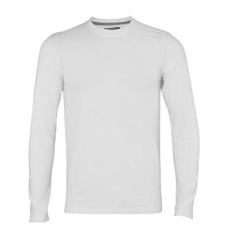 Adidas Men's Long Sleeve Aeroknit T-Shirt, White