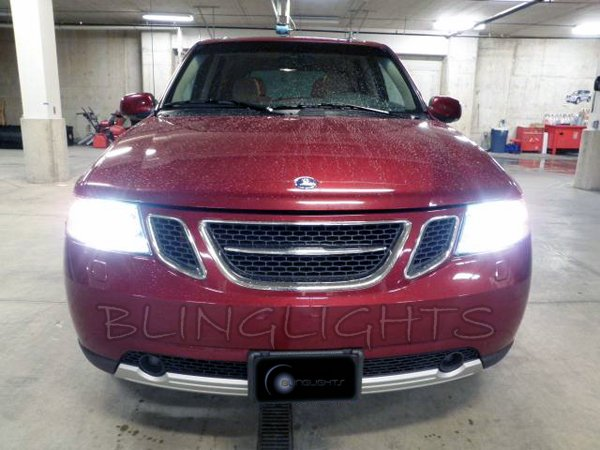 saab 9 7x xenon hid conversion kit for headlamps headlights head rh walmart com