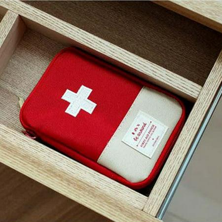 Medical Bag Emergency Survival Drug storage Kit Treatment Outdoor Home Rescue