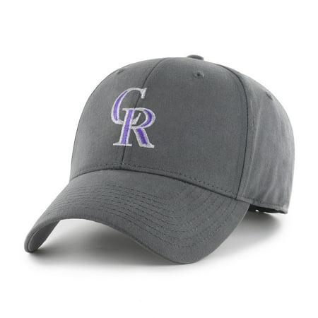 Colorado Rockies Hat (Fan Favorite MLB Basic Adjustable Hat, Colorado)
