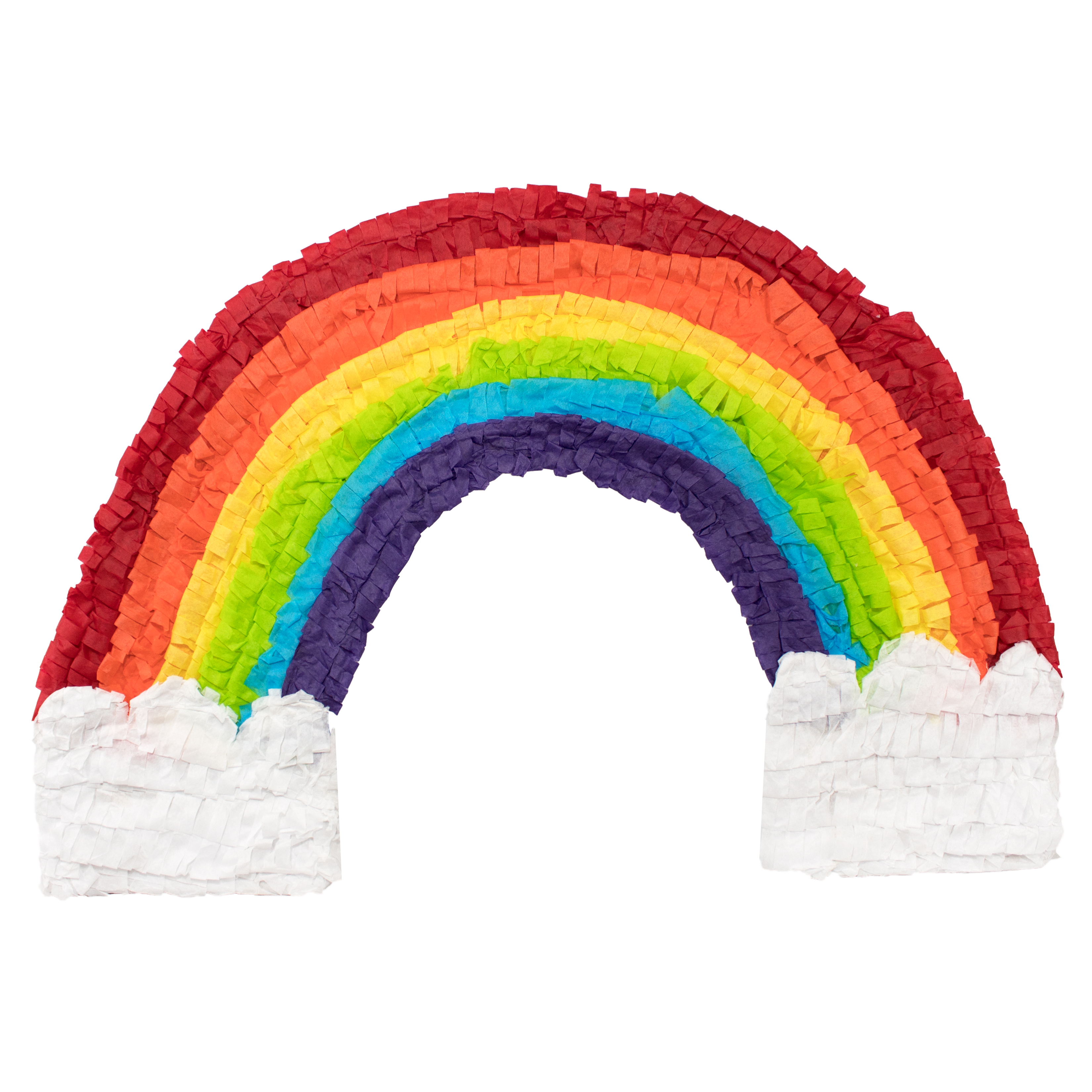 Rainbow Party Piñata, Traditionally Handcrafted