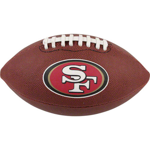 San Francisco 49ers  Game Time Full Size Football - Rawlings