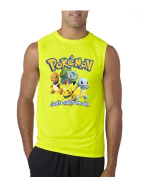 8d515191be7 Product Image Allwitty 1118 - Men s Sleeveless Pokemon Go Gotta Catch   ...