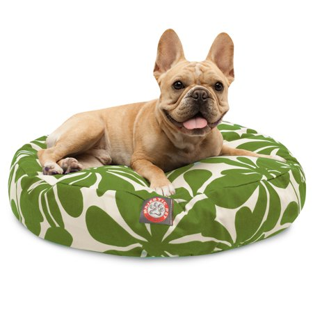 Awe Inspiring Majestic Pet Plantation Round Dog Bed Treated Polyester Squirreltailoven Fun Painted Chair Ideas Images Squirreltailovenorg