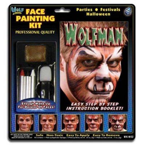 Wolfman Face Painting Kits from Wolfe (3 Colors)