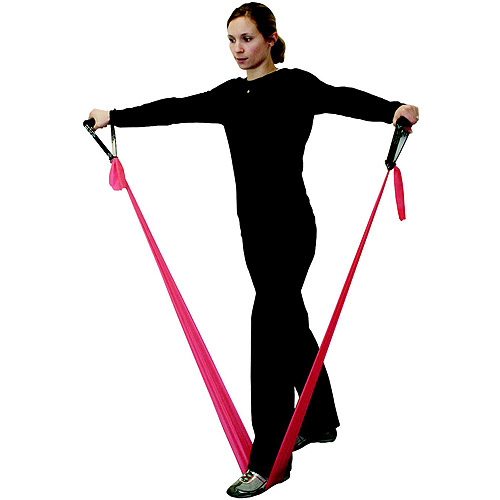 School Specialty Heavy Exercise Resistance Band, 6 Yards, Black