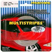 TRIMBRITE R32005 Pinstripe Tape, Silver, 40 In. X 0.31 Ft.