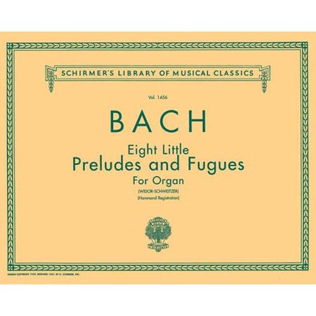 8 Little Preludes and Fugues : Organ Solo (Mendelssohn Prelude And Fugue In G Major)