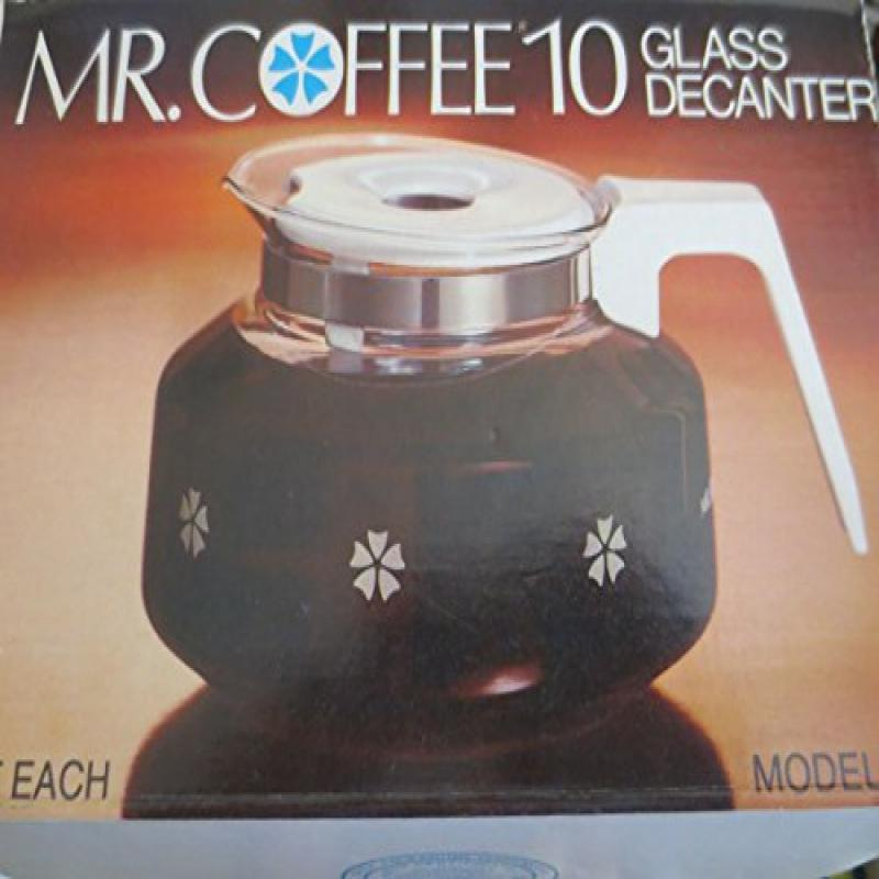 Mr Coffee 10 Cup Glass Decanter Carafe Model D-7 -- Fits ...