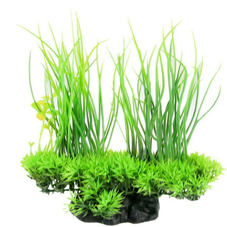 Plastic Artificial Green Water Grass Underwater Simulation Aquarium Plant for Fish Tank Decoration Ornament