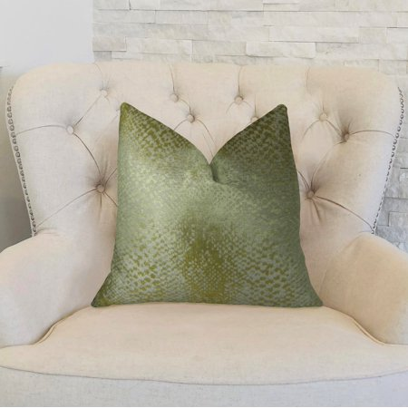 Plutus PBRAZ369-1220-DP Venetian Gold Handmade Luxury Pillow, 12 x 20 in. - image 2 de 3