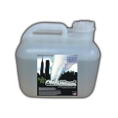 Quick Blast Fog Juice - CO2 Blast Effect Fog Machine Fluid - Best for Chauvet DJ Geysers - 2.5 Gallon