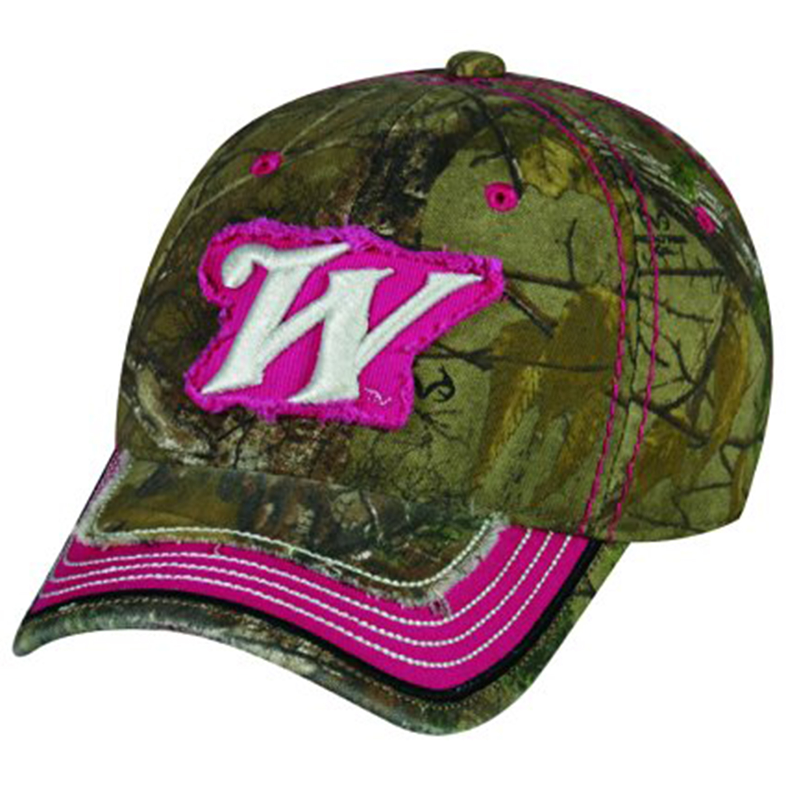 win39a womens winchester logo realtree xtra pink hat cap