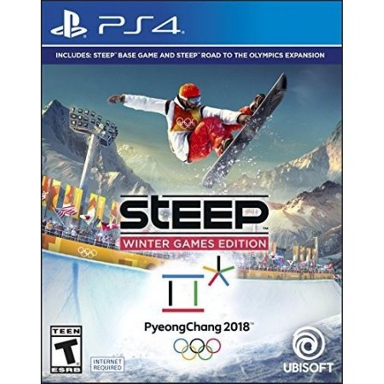 Refurbished Ubisoft Steep Winter Games (PS4)