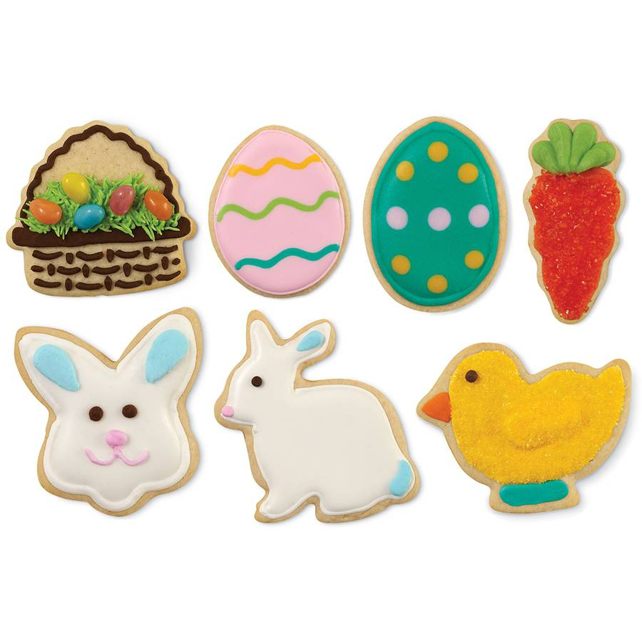 Metal Cookie Cutter Set, 7pc, Easter