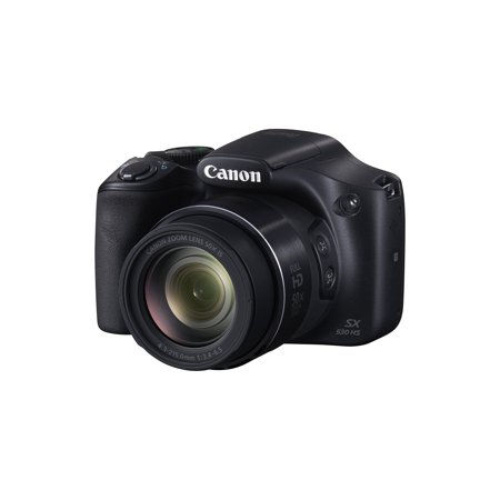 Canon Black Powershot Sx530 Hs Digital Camera With 16 Megapixels And 50X Optical Zoom