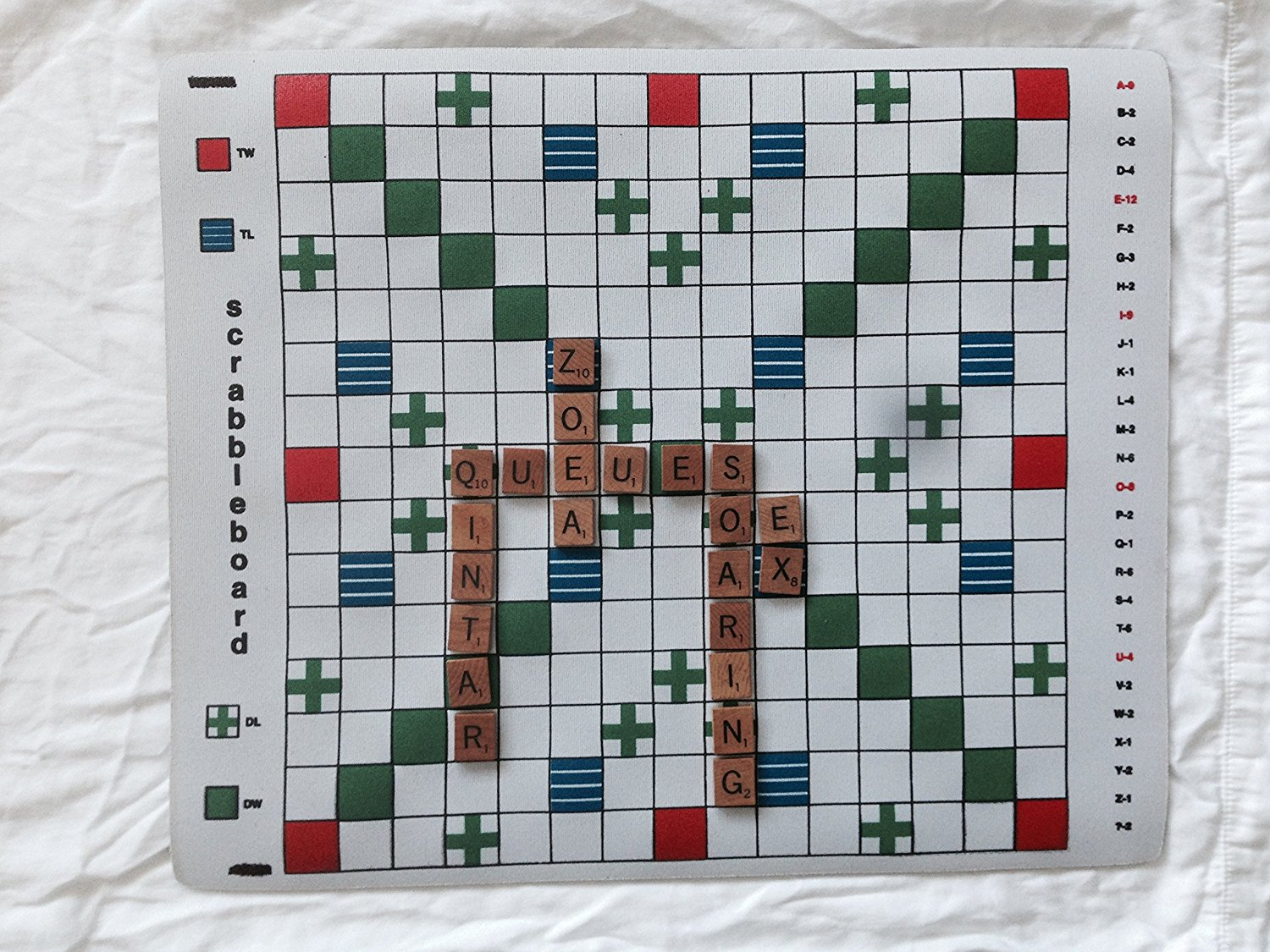Scrabble Board Game by