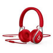 Beats EP by Dr. Dre On-Ear Wired Headphones with Mic and 3.5 MM Jack - Red (Certified Refurbished)