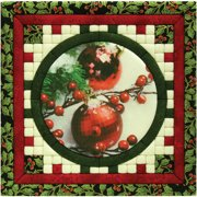 Christmas Ornaments Photo Quilt Magic Kit-12 Inch X 12 Inch