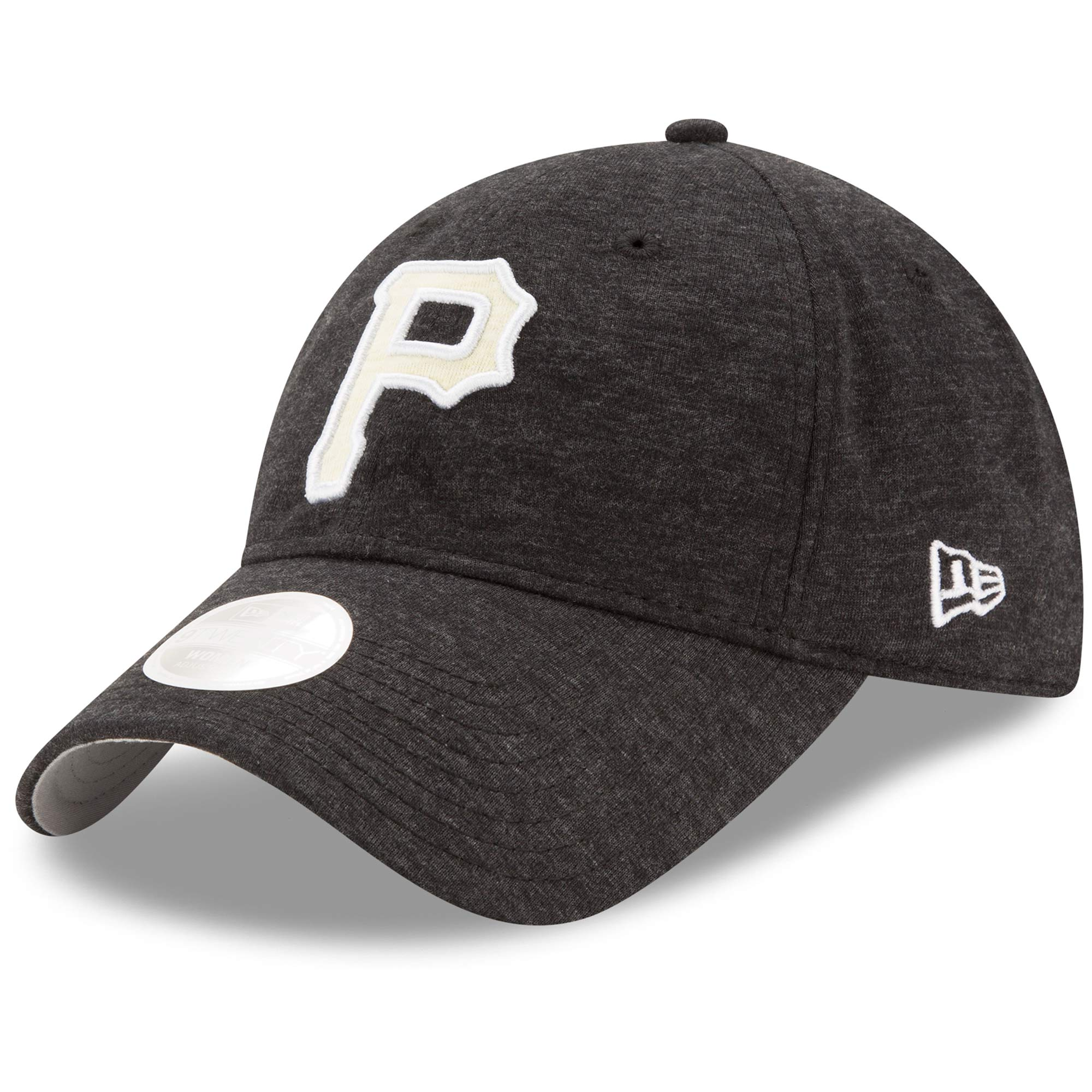 Pittsburgh Pirates New Era Women's Team Multi Tone 9TWENTY Adjustable Hat - Black - OSFA