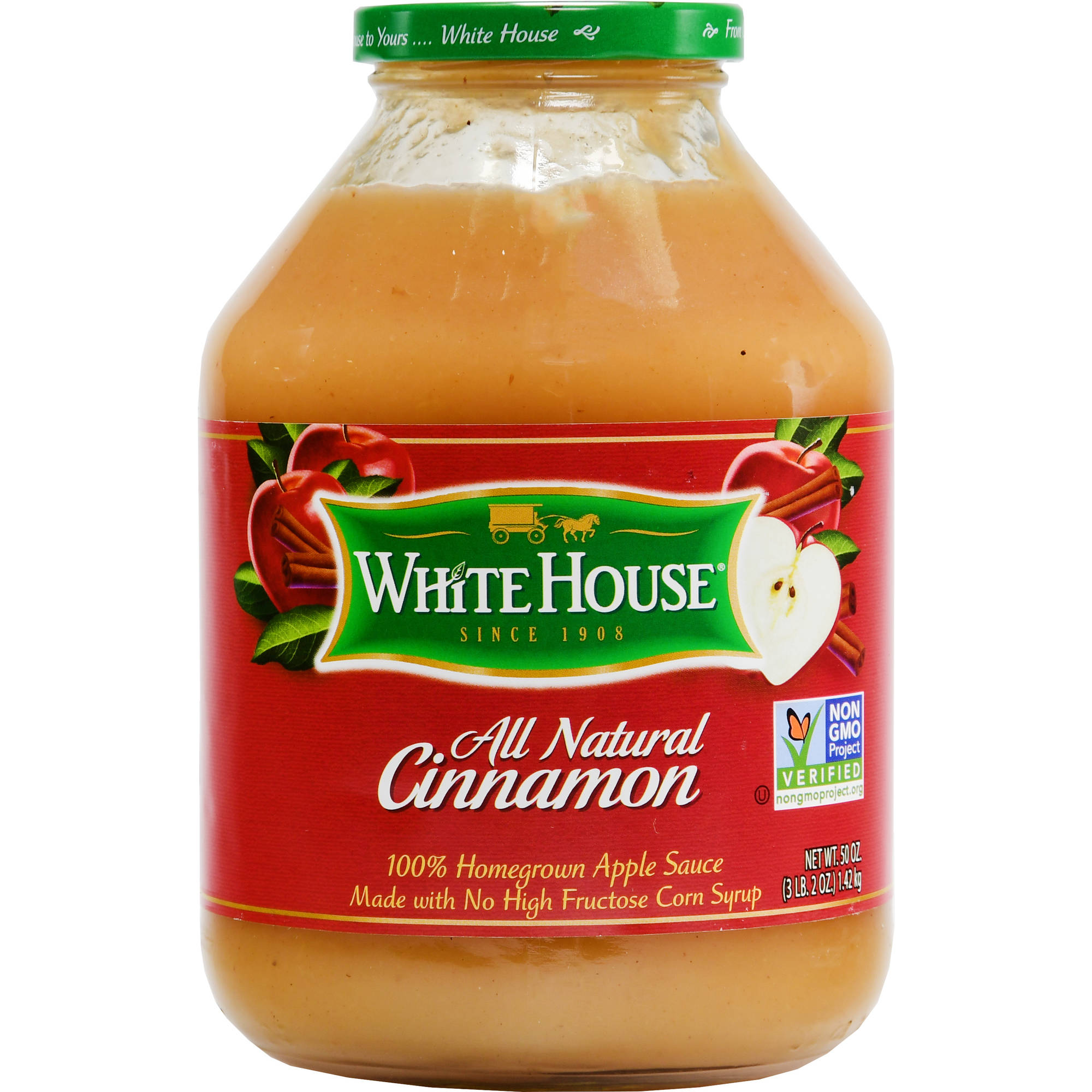 White House Cinnamon Applesauce, 46 fl oz