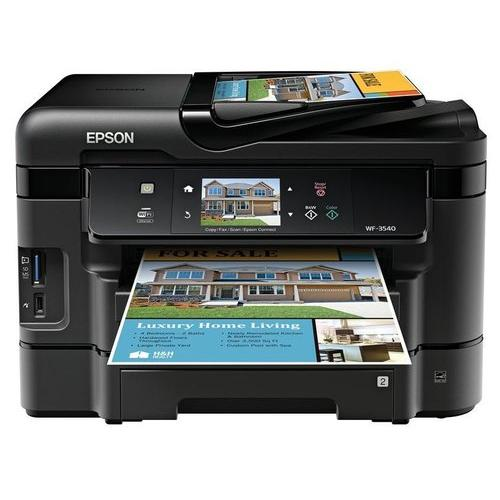 Epson WorkForce WF 3530 Wireless Color Printer with Scanner, Copier and Fax by Epson