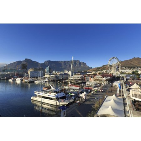 South Africa, Western Cape, Cape Town, V&A Waterfront, Victoria Wharf Print Wall Art By Michele Falzone (South Wharf)