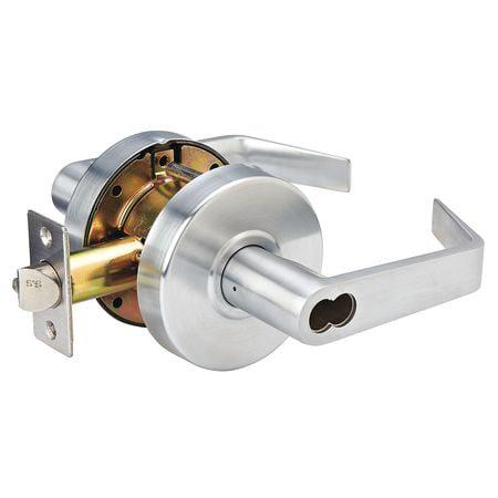 Lever Lockset,Mechanical,SLC Angled MASTER LOCK SLCICSR26D