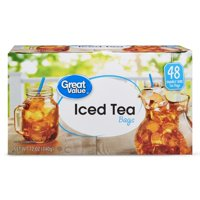 (3 Boxes) Great Value Iced Tea Bags, 12 oz, 48 Count