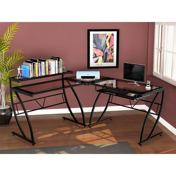 Z Line Feliz Gl L Shaped Desk Black Com