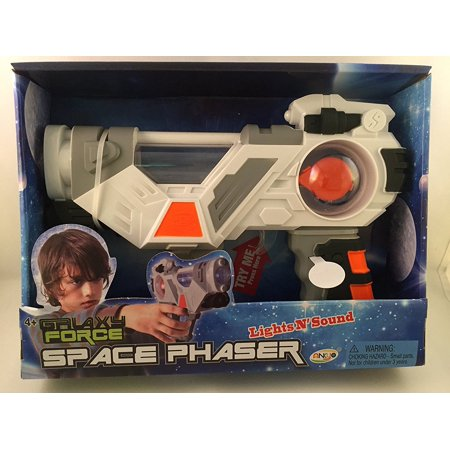 Galaxy Force Lights N' Sound Space Phaser, Light and Sound Space gun for children 4+ By Ankyo Ship from US - Phaser Gun