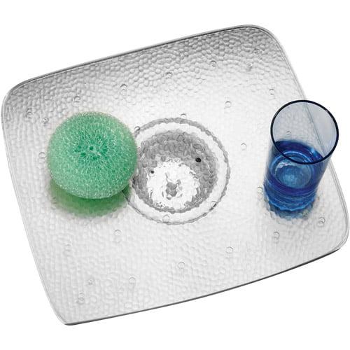 interDesign Clear Rain Small Sink Grid