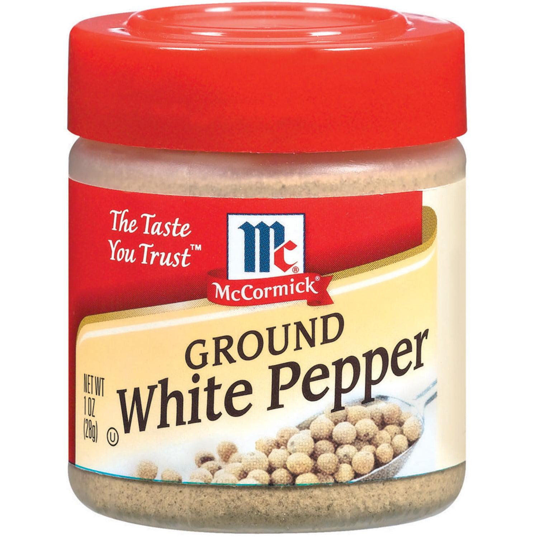 McCormick�� Ground White Pepper, 1 oz. Bottle