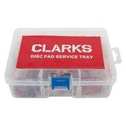 Clarks Brake Pads Disc Tray Sint Shi Vrx811/Vrx824/Vrx852 Box of 20Pr