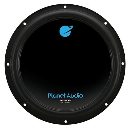 "PLANET AUDIO AC12D 12"" 1800W Car Audio Power Subwoofer Sub Woofer DVC 4 Ohm"