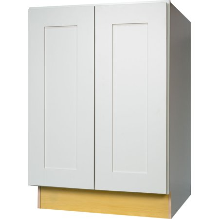 cabinets 24 inch white shaker full height door base kitchen cabinet