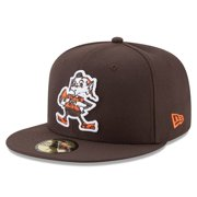 Cleveland Browns New Era Brownie Omaha Throwback 59FIFTY Fitted Hat - Brown