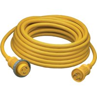 Hubbell 30A 125V 25' Vinyl Jacketed Pre Wired Shore Power Cable Set