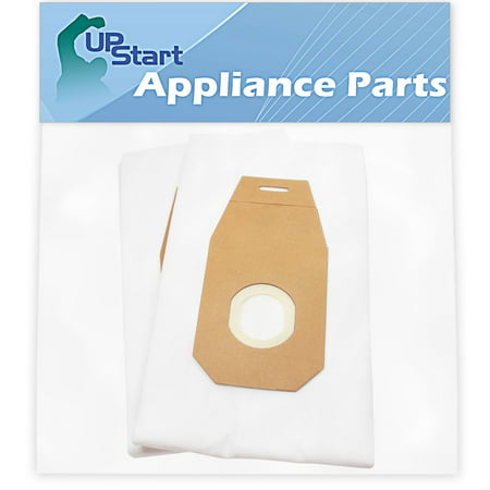 2 Replacement Type Q HEPA Bag AH10000 for Hoover - Compatible with Hoover UH30010COM, Hoover UH30010, Hoover AH10000, Hoover Type Q, Hoover UH30010CCA, Hoover 302982002