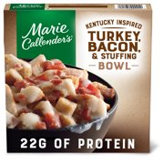 Marie Callender's Frozen Meal, Kentucky Inspired Turkey, Bacon & Stuffing Bowl, 11 oz.